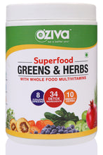 OZiva Super Combo - Protein & Herbs (500g) + Superfood Greens & Herbs (250g) + Shaker (350ml)