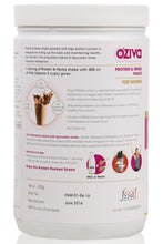 OZiva Protein & Herbs, Women, Whey Protein Powder with Ayurvedic Herbs & Multivitamins - 2.5 kgs, Chocolate