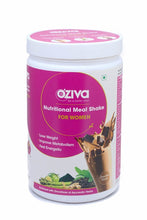 [CLEARANCE SPECIAL] OZiva Nutritional Meal Shake, Women - Chocolate, High Protein Meal Replacement Shake with Ayurvedic Herbs (Soy Free, Gluten Free)