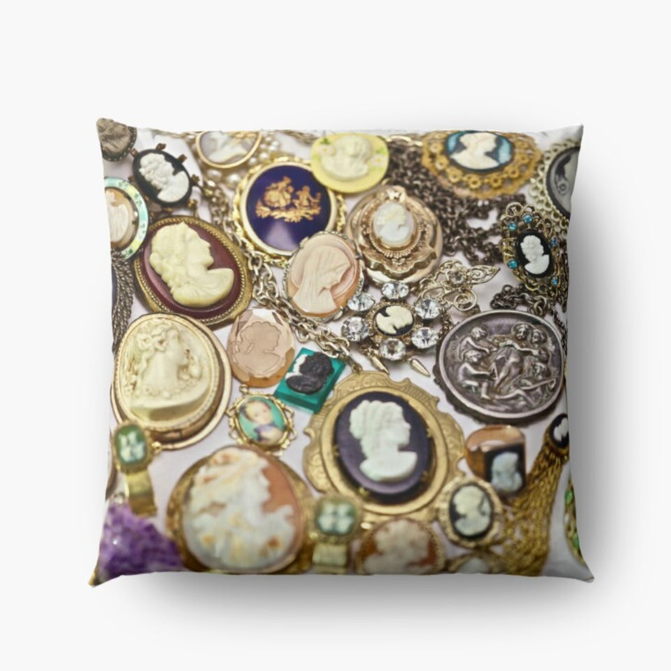 Cameo Calamity Design Floor Pillow