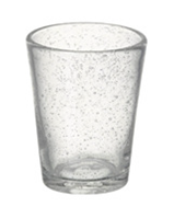 Glass Bubble Tumbler