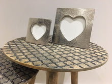 Small Silver Heart Picture Frame