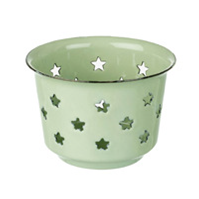 Mint Star Tealight Holder