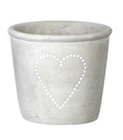 Small Single Heart Plant Pot