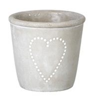 Large Single Heart Plant Pot