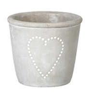 Medium Single Heart Plant Pot
