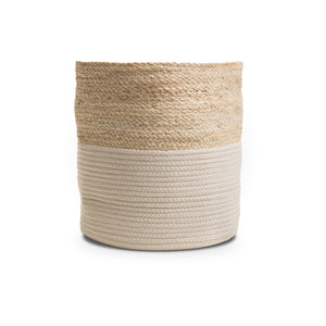 Large Husk Rope Storage Basket