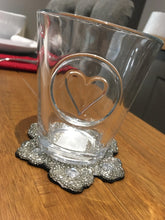Heart Tumbler Glass