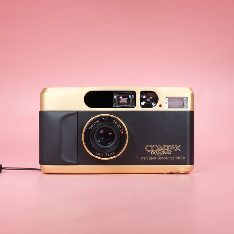 Contax T2 Gold 60 Years Limited Edition
