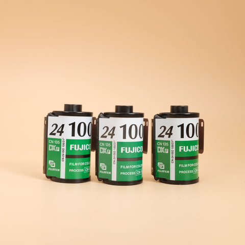Expired Fujifilm Fujicolor 100 Colour 35mm Film (set of 3)