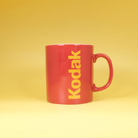 Kodak Red Mug