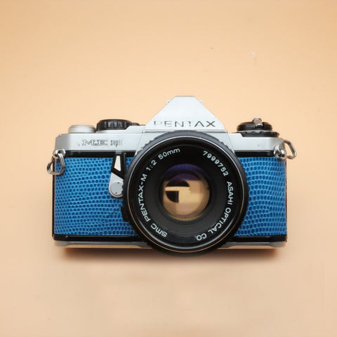 Pentax ME Super Serpent Blue