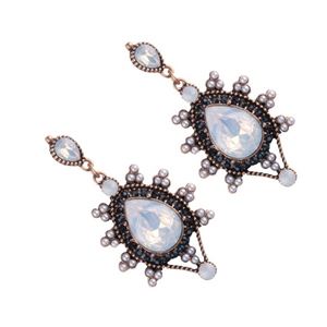 ARABELLA BLACK EARRINGS