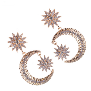 KATALYST GOLD EARRINGS