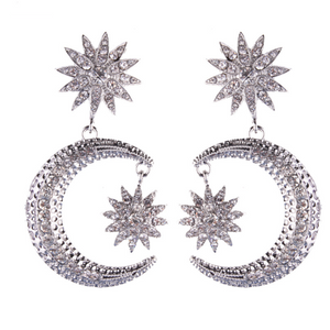 KATALYST SILVER EARRINGS