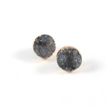 ELYSIAN GREY STUD EARRINGS