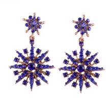 SERAPHINA BLUE EARRINGS