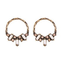 CHASING LIBERTY ROSE GOLD EARRINGS