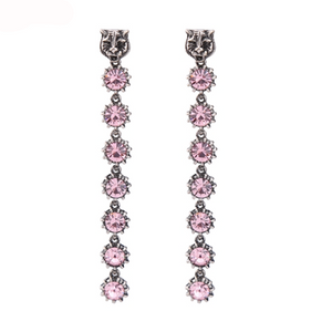 JAGGER LINEAR PINK EARRINGS