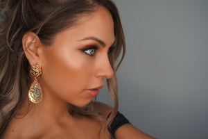 DECADENCE GOLD EARRINGS