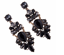 ANISE BLACK EARRINGS