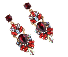 ANISE RED EARRINGS