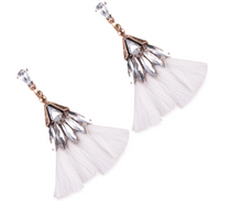 REMI WHITE EARRINGS