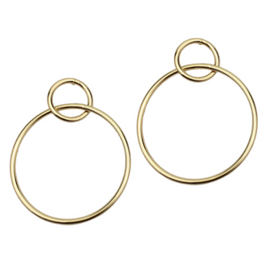 BAILEY DOUBLE HOOP EARRINGS