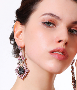 WILD PEONY EARRINGS