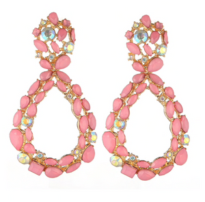 ALIA PINK EARRINGS