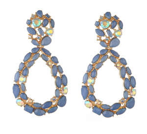 ALIA BLUE EARRINGS