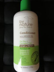 By Nature Dry & Damaged Hair Conditioner - With Argan Oil