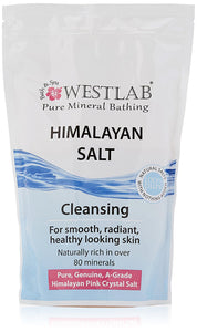 Westlab Himalayan Cleansing Salt Stand Up Pouch, 1Kg
