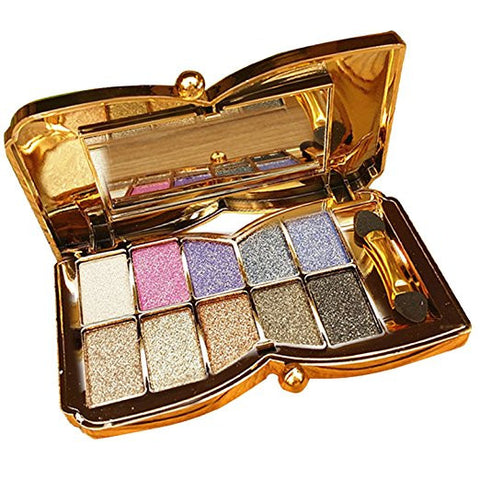 10-Colour Shimmer Eye Shadow