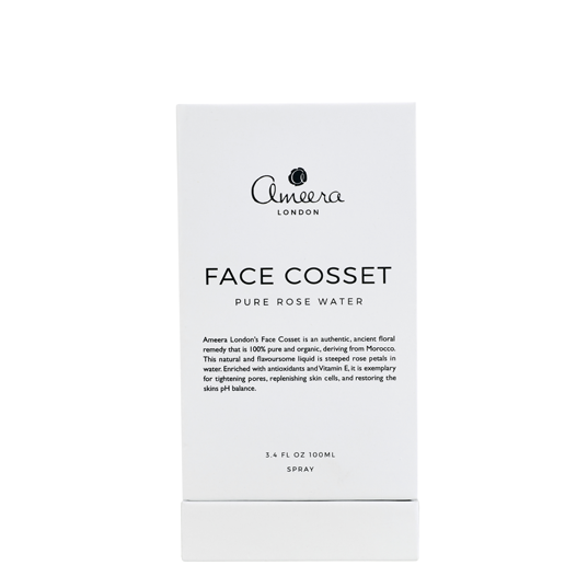 Ameera London's Face Cosset is an authentic, ancient floral remedy that is 100% pure and organic, deriving from Morocco.