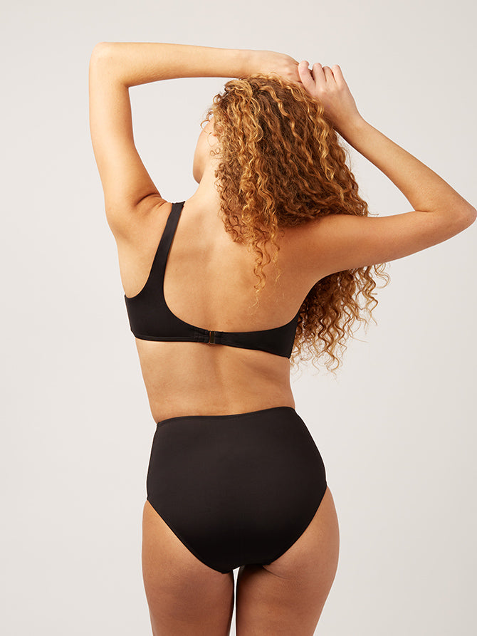 The High Waisted Bottom - black