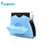 Square shape double faced magnetic window cleaner