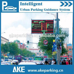 AKE Smart City and Urban Parking Guidance System