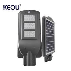 High power motion sensor module system 60 watts solar led street light 60w control reflector with battery backup