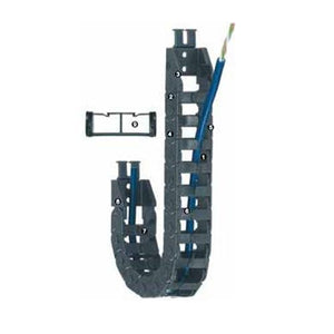 Cable carrier with Limited torsion tolerance E-045 Series - www.MyAutomation.Store