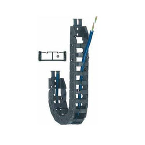 Cable carrier with Limited torsional movement E-065 Series - www.MyAutomation.Store