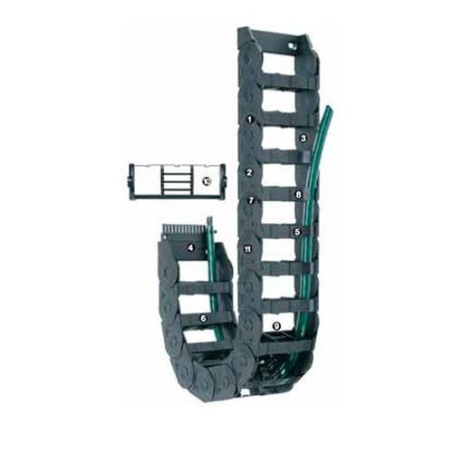 Cable carrier with Dirt-repellent exterior E -300 Series - www.MyAutomation.Store