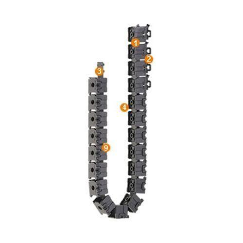 Cable carrier for easy filling E1-10 Series - www.MyAutomation.Store