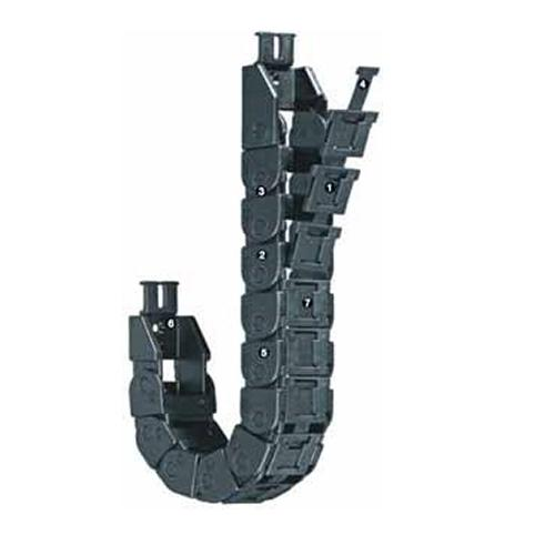 Cable carrier with  Small pitch for low-noise Zipper e-chain- Series 09 - www.MyAutomation.Store