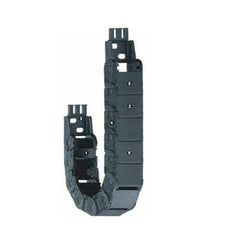 Snap-open along inner radius with film-hinge cable carrier-E2 mini Series 14