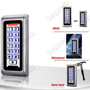 Waterproof Metal Case OutDoor Access Control