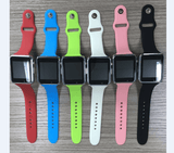 High Quality Colorful SD Card Camera BT Mobile Phone A1 Smart Watch With Sim Card for Android IOS Cell Phone