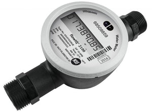 Ultrasonic smart water meter for residential use