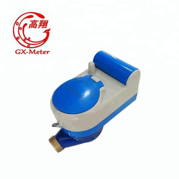 AMR/GSM wireless remote reading water meter