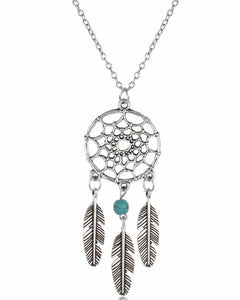 Vintage Dreamcatcher Necklace - 4 Variations